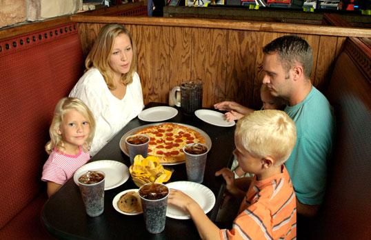 fun center pizza restaurant