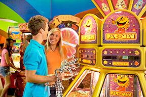 teens in arcade